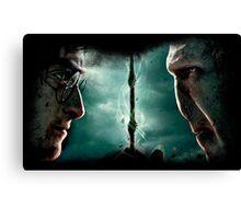 Harry&Voldemort Canvas Print