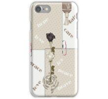Rose of Hope iPhone Case/Skin
