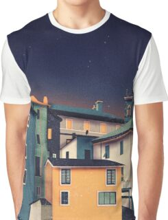 Castles at Night Graphic T-Shirt