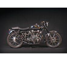 Royal Enfield Carberry V-twin Photographic Print
