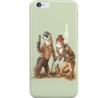 Steampunk Weasels iPhone Case/Skin