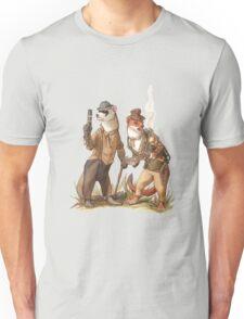 Steampunk Weasels Unisex T-Shirt