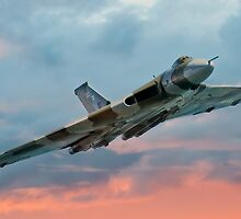 Avro Vulcan Sunset by © Steve H Clark Photography
