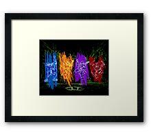TMNT Rock Framed Print