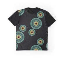 back to 70's, blue,green, yellow Graphic T-Shirt