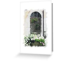 The Flower Box Greeting Card