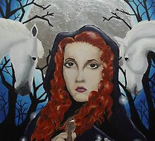 Rhiannon - Goddess of the Moon by NicPhillips