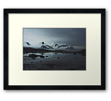 Reflection in Antarctica Framed Print