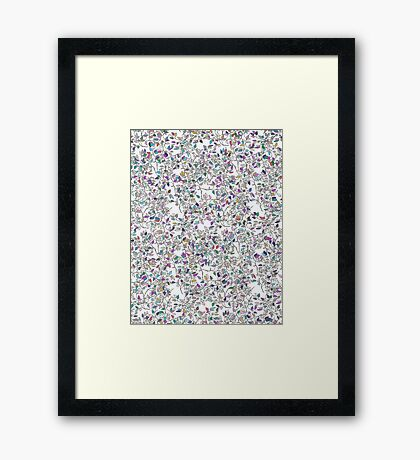 Number 40 Framed Print