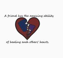 True Friends heal All  by werewolf-Pirate