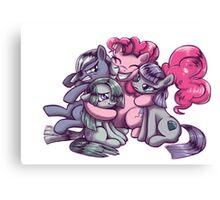 Pinkie Marble Maud Limestone Pie Canvas Print