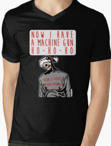 Ho-Ho-Ho Die Hard Christmas Mens V-Neck T-Shirt