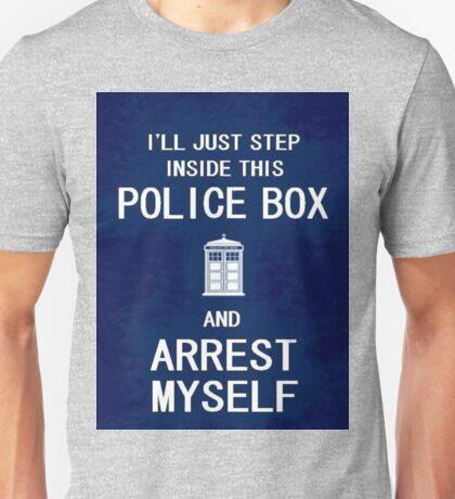 Doctor Who - Arrest Myself Unisex T-Shirt