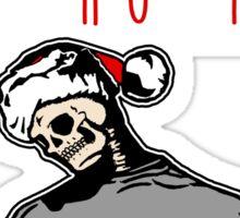 Ho-Ho-Ho Die Hard Christmas Sticker