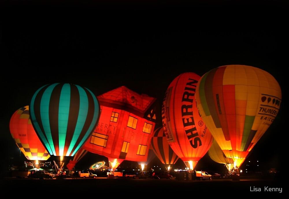 Hot Air Balloons  by Lisa  Kenny