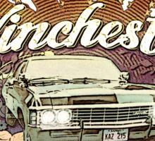 Vintage Winchester Metallicar Sticker