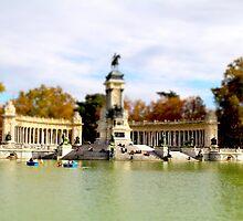 Retiro Park Madrid by charlie mcanulty