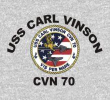 USS Carl Vinson (CVN-70)  Crest One Piece - Long Sleeve