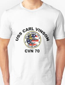 USS Carl Vinson (CVN-70)  Crest T-Shirt