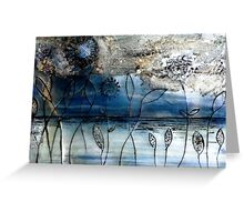 Blue Days - Oil Painting Greeting Card