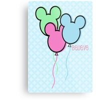 But Mickey Balloons. Metal Print
