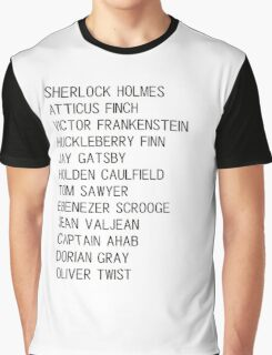 Classic Heroes Graphic T-Shirt
