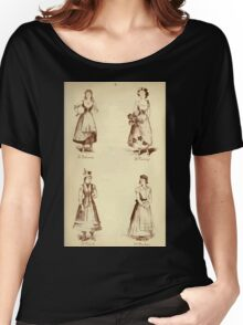 Fancy dresses described or What to wear at fancy balls by Ardern Holt 228 Palience Pansy Polish Puritan Women's Relaxed Fit T-Shirt