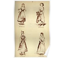 Fancy dresses described or What to wear at fancy balls by Ardern Holt 228 Palience Pansy Polish Puritan Poster