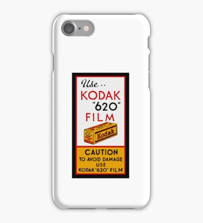 Kodak 620 - Avoid Damage iPhone Case/Skin