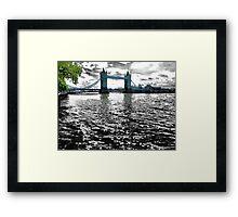 The River Runs Dark Framed Print
