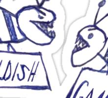 Community Gambino (grey) Sticker