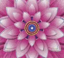 Embroidered pink&purple Sticker