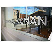 eat drink man woman. fitzroy, melbourne. Poster