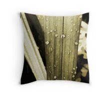 Fresh Wet Throw Pillow