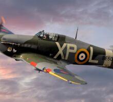 Hawker Hurricane - Evening Sortie Sticker