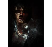 Smokey Vampire Photographic Print