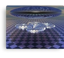 Lens Over Quad Spiral Canvas Print