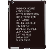 Classic Heroes 2 iPad Case/Skin