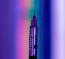 Multicolored Syringe Sticker