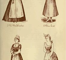 Fancy dresses described or What to wear at fancy balls by Ardern Holt 044 Balchriolie Blue Coat Breton Carrier Pigeon by wetdryvac