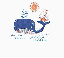 Sail on a Whale Tail Unisex T-Shirt