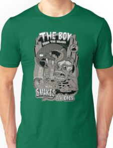 Boy from the sewer with snakes for eyes Unisex T-Shirt