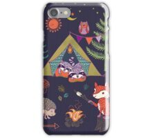 Woodland Animals Campout iPhone Case/Skin