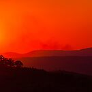 Sunset over Pretoria by Rudi Venter