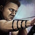 Avengers - Hawkeye by Ylaya