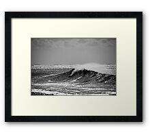 Big Wave Surfing Burleigh Heads Framed Print