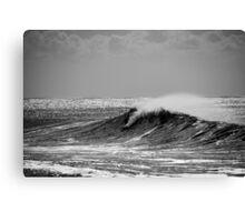 Big Wave Surfing Burleigh Heads Canvas Print