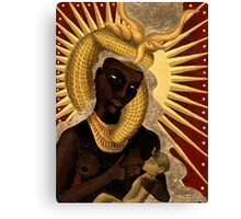 Goddess Isis and Horus Canvas Print