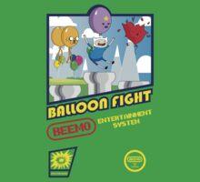 Adventure in Balloon Fighting Kids Tee