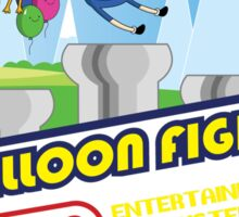 Adventure in Balloon Fighting Sticker